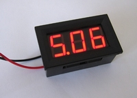 Digitale Paneelmeter 30V (Mini)